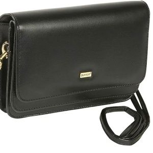 Buxton Double-Flap Mini-Bag with Total Wallet Orga